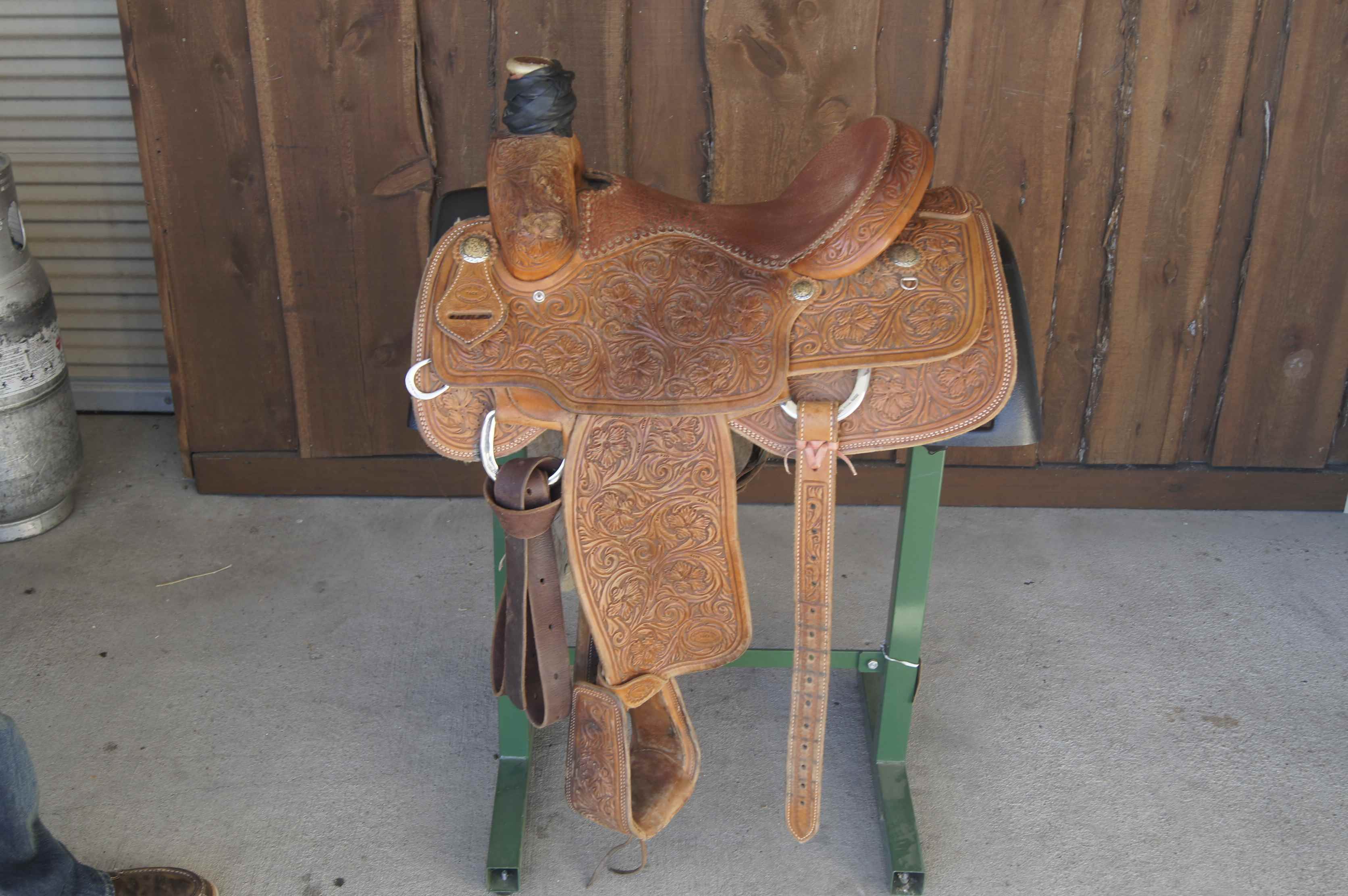 South Texas Tack Team Roper Fully Tooled